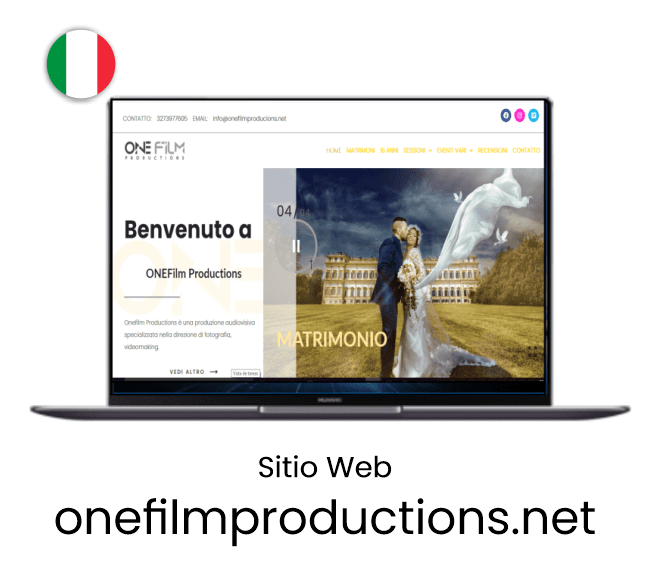 Px proyectos recientes pagina web one film productions-min